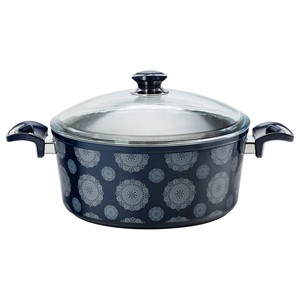 Fatafeat Granite Deep Casserole with Lid 30cm FT-30DCB