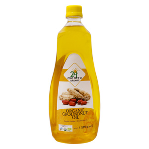 24 Mantra Organic Groundnut Oil 1Litre