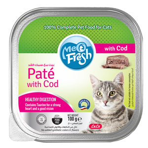 Lulu Meo Fresh Pate with Cod 100g