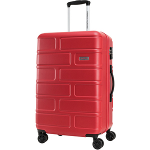 American Tourister Bricklane 4 Wheel Hard Trolley 55cm Red