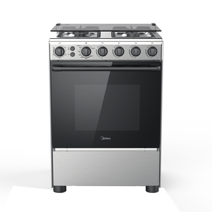 Midea Cooking Range BME62058 60x60 4Burner,Full Safety With Rotisserie