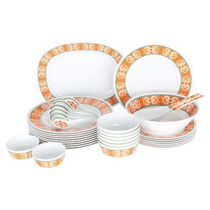 Lulu Melamine Dinner Set Sunrise 34pcs