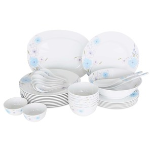 Lulu Melamine Dinner Set 34pcs Diary