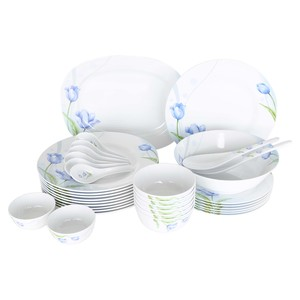 Lulu Melamine Dinner Set 34pcs TULIP