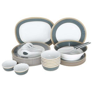 Lulu Melamine Dinner Set 34pcs Jetsetter