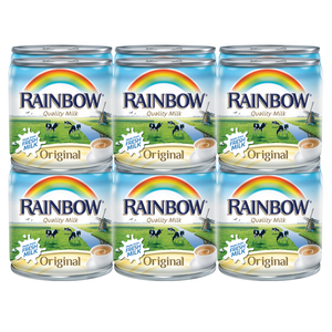 Rainbow Evaporated Milk 12 x 170g