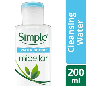 Simple Water Boost Micellar Cleansing Water 200ml