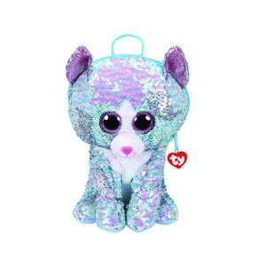 Ty Fashion - Whimsy Sequin Cat Backpack B-P 95033