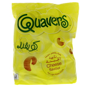 Lay's Quavers Cheese Flavour Light Potato Chips 27g
