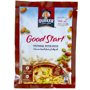 Quaker Good Start Oatmeal With Nuts 40g