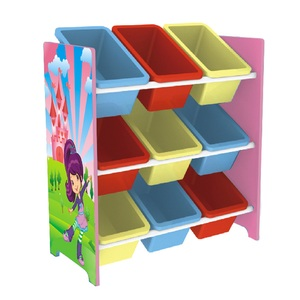 Maple Leaf Kids Toy Cabinet Pink K8016 Size: H63.5xD30xW60cm