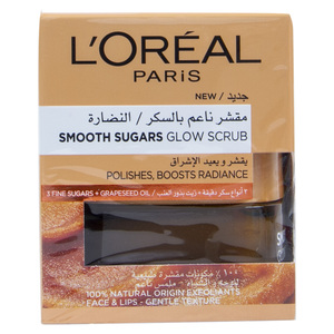 L'Oreal Paris Smooth Sugars Glow Scrub 50ml