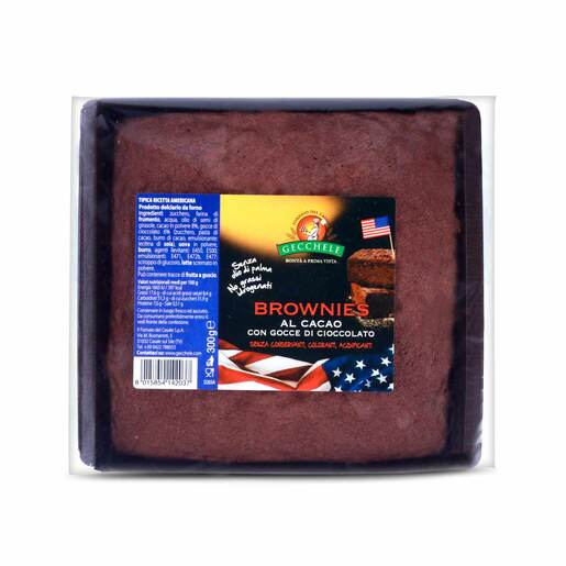 Gecchele Brownies al Cacao 300g