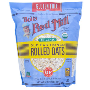 Bob's Red Mill Organic Rolled Oats 907g