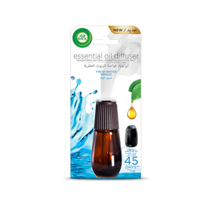 Airwick Air Freshener Essential Oil Diffuser Refill Fresh Water Breeze 20ml