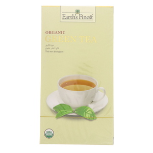 Earth's Finest Organic Green Tea 25 pcs