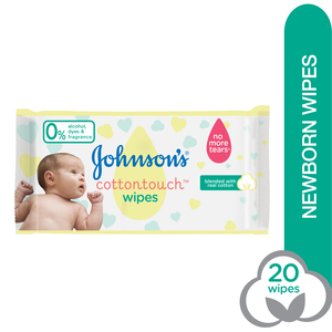 Johnson's Wipes Cottontouch Extra Sensitive 20pcs