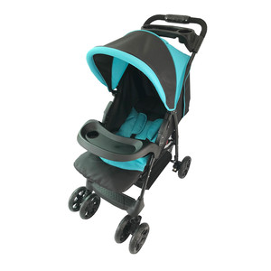 First Step Baby Stroller 301-FA Blue