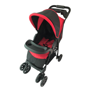 First Step Baby Stroller 301-FA Red