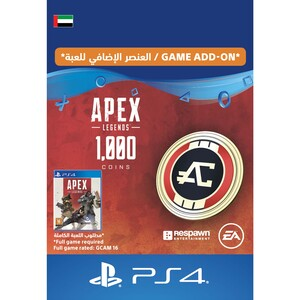 Sony ESD Apex Legends-1,000 Apex Coins UAE [Digital]