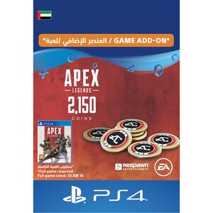 Sony ESD Apex Legends-2,000 (+150 Bonus) Apex Coins UAE [Digital]