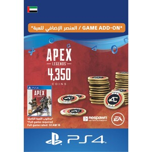 Sony ESD Apex Legends-4,000 (+350 Bonus) Apex Coins UAE [Digital]