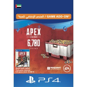Sony ESD Apex Legends-6,000 (+700 Bonus) Apex Coins UAE [Digital]