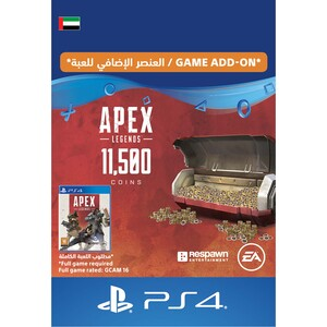 Sony ESD Apex Legends-10,000 (+1500 Bonus) Apex Coins UAE [Digital]