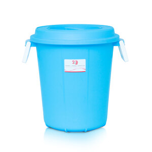 JCJ Drum Bucket With Lid 2012 35Ltr Assorted Color