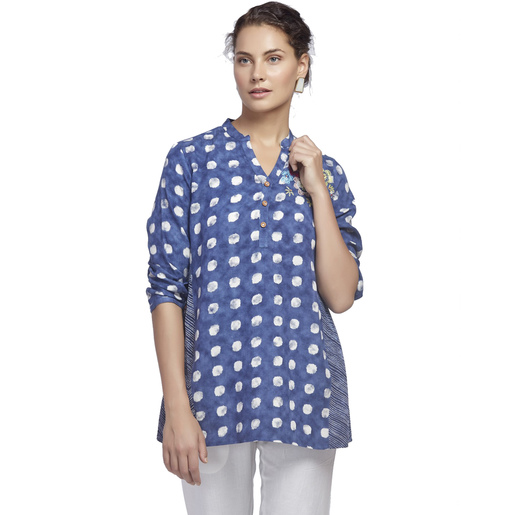 Eten Women's Printed Tunic 2413 Medium