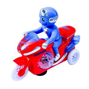 Chn Toys Battery Operated Light & Music Bike 888-18