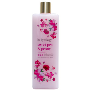 Bodycology Sweet Pea And Peony Moisturizing Body Wash 473ml