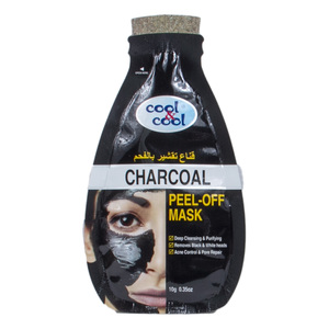Cool & Cool Charcoal Peel Off Mask  10g