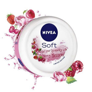 Nivea Soft Cream Berry Blossom 100ml