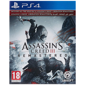 Assassins Creed-3 Remastered PS4