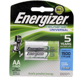 Energizer Rechargeable AA Battery NH15