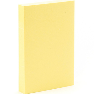 3M Post-it Notes Yellow 2in x 3in 100 Sheets