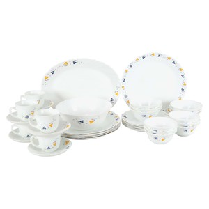 Cello Dinner Set Crazy Flower 38pcs