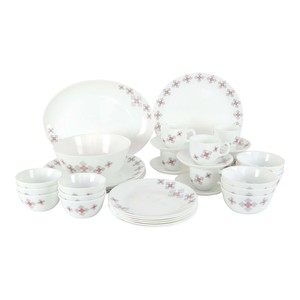 Cello Dinner Set Block Buster 38pcs