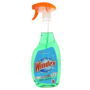 Windex Streak Free Shine Fresh Glass Cleaner 750ml