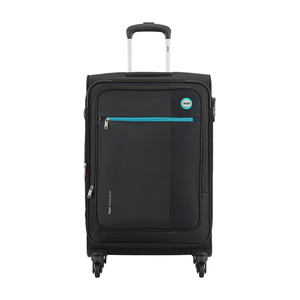 VIP Switch Expandable Spinner Soft Trolley 54cm Black
