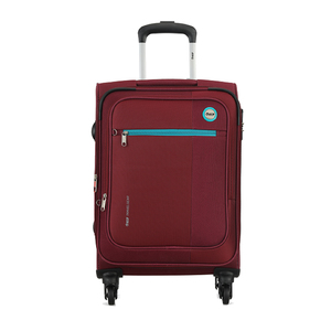 VIP Switch Expandable Spinner Soft Trolley 76cm Maroon