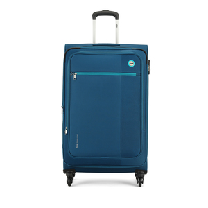 VIP Switch Expandable Spinner Soft Trolley 76cm Blue