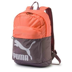 PUMA Originals Backpack Orange Grey 07479917