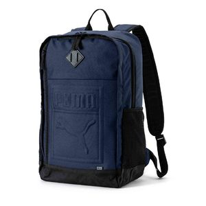 PUMA S Backpack Navy 07558102