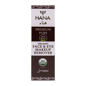 Hana Organic Face and Eye Makeup Remover 100ml