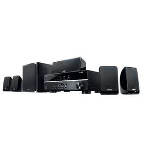 Yamaha Home Theater Systems 5.1 Channel YHT-1840 Black