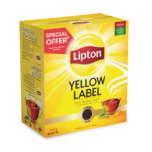 Lipton Yellow Label Black Tea Loose 700g