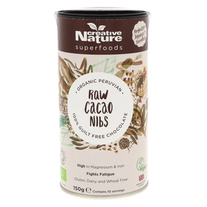 Creative Nature Organic Raw Cacao Nibs 150g