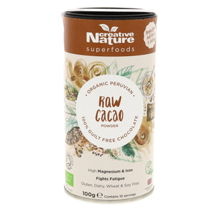 Creative Nature Organic Raw Cacao Powder 100g
